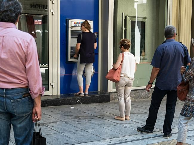 Greeks have been subject to capital controls for two weeks now. Picture: Andreas Solaro /