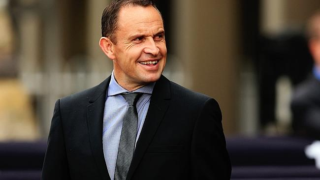 King of the hill: Trainer Chris Waller sits on top of the pile of gold when it comes to r
