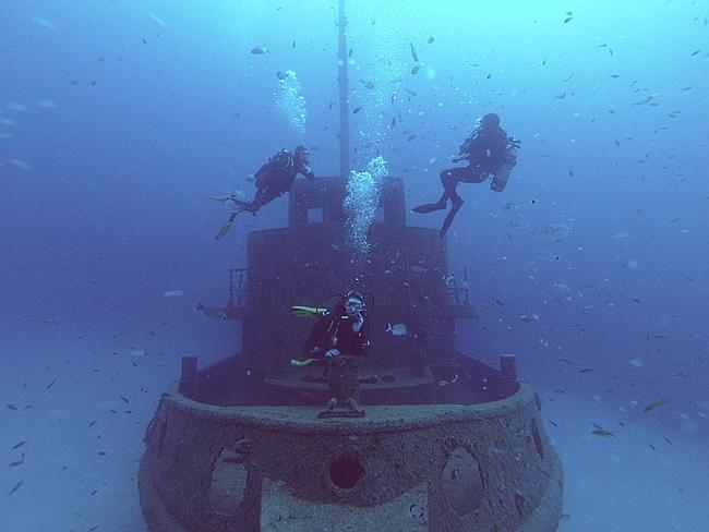 Diving in Malta.