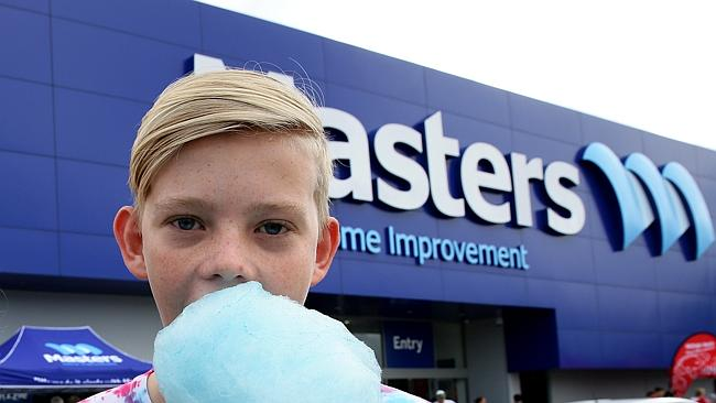 Australia's fastest growing hardware chain, Masters, is soldiering on and opening new sto
