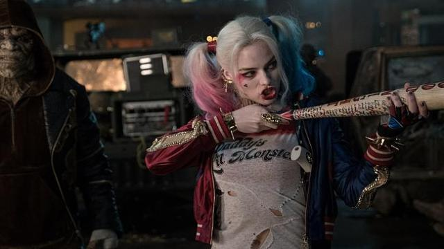 Margot Robbie in Suicide Squad.