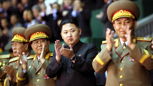 Kim Jong-un Applauds