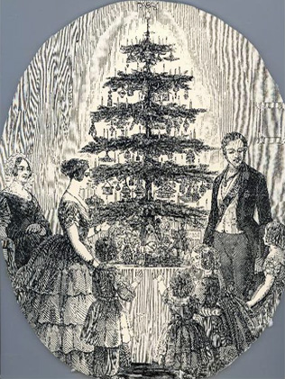 Queen Vic christmas tree
