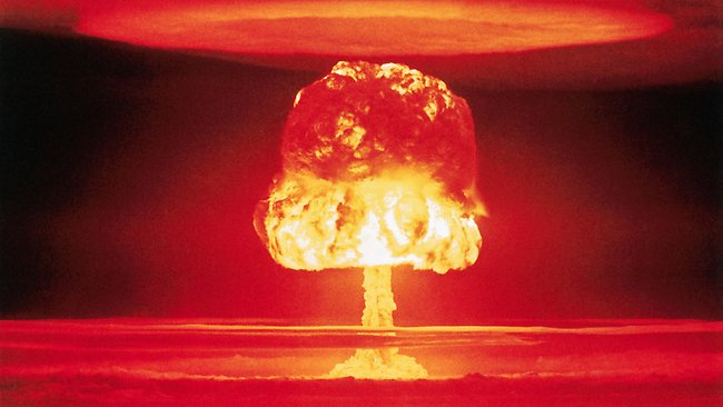 picture nuclear testing