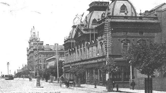 The grand old dame of Melbourne's theatre scene in 1908.