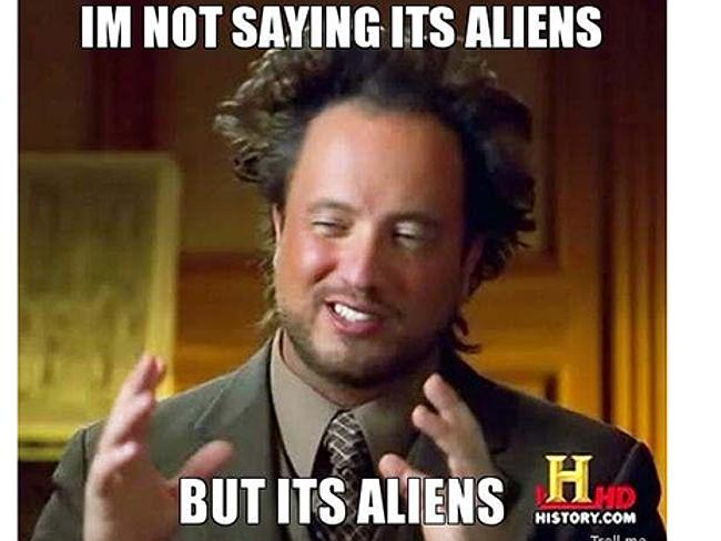 Did I mention aliens?