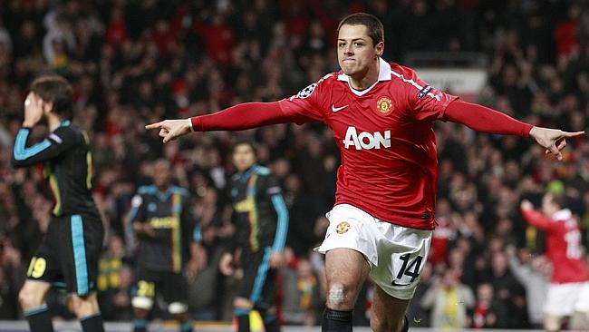 Manchester United's Javier Hernandez will look for a big World Cup.