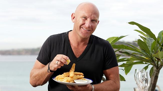 Chef Matt Moran at his restaurant North Bondi Fish.