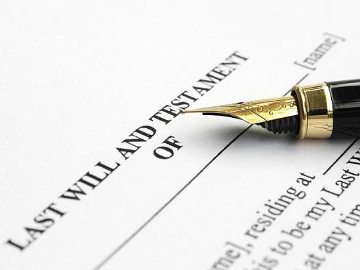 Making a will is an important part in dealing with the inevitability of death.