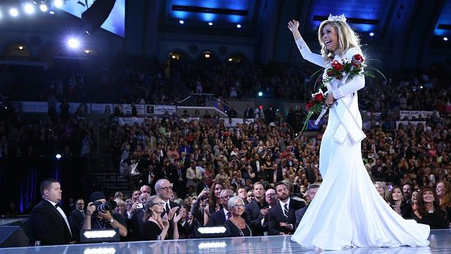 Bad girl...Miss America Kira Kazantsev was kicked out of her sorority in 2013 for reports