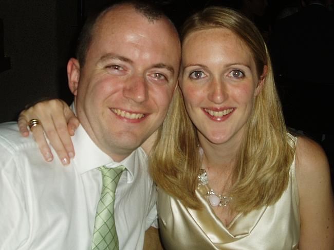 Tragic loss ... Katrina Dawson is pictured with her husband Paul Smith. Picture: Supplied