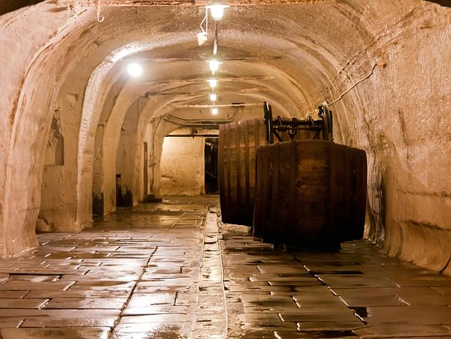 The Pilseň cellars. Picture: LenDog64