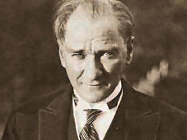 Mustafa Kemal Ataturk ... for many generations a revered figure, Turkey's current Preside