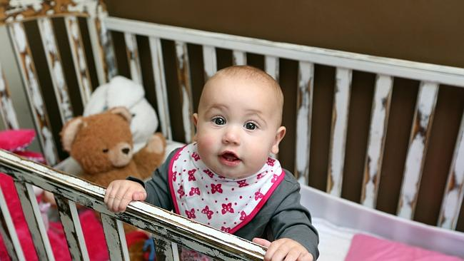 Arabella Erhard is set to be treated by specialists in Brisbane after being sent home fro