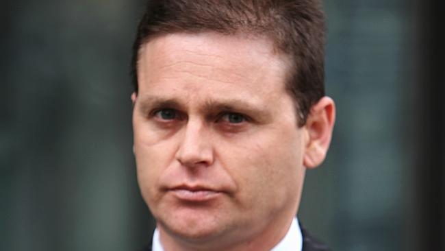 Danny Nikolic was asked to leave the weigh-in area at Flemington on Wednesday.