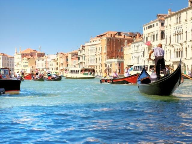 Venice is facing a catastrophic rise in sea levels.