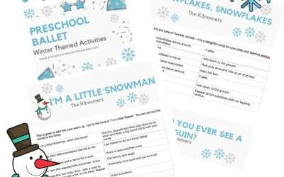 Winter  Preschool ballet class plan – top 10 songs and activities