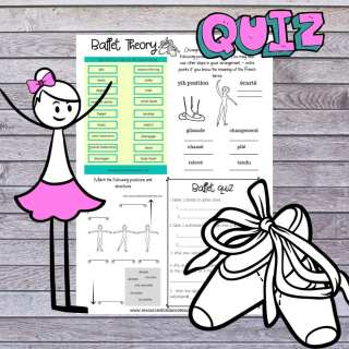 free ballet theory quiz