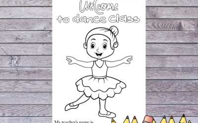 Back to Dance coloring page