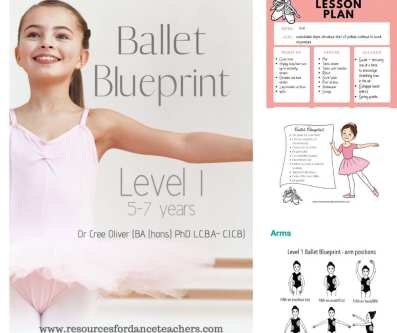 ballet curriculum blueprint