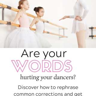 become a better dance teacher