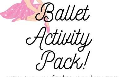 Download Ballet Activity Packs for studio shutdowns