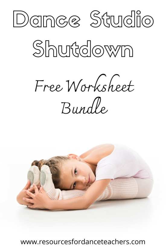 Dance studio shutdown resources