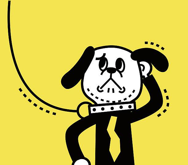 chaining a dog