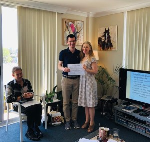 Thank you Julien for helping us at the Sydney Resource Therapy Training in 2018
