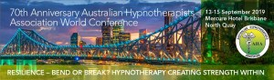 70th Anniversary Australian Hypnotherapists Association World Conference 2019 Brisbane