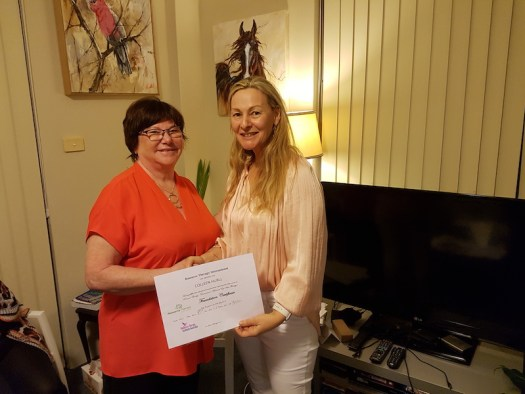 Couples counsellor trains in Resource Therapy