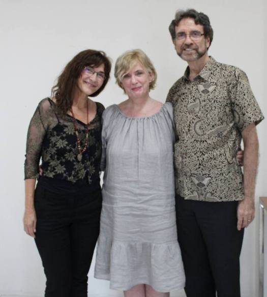 Deb withAnnandGordonEmmerson in Bali Resource Therapy Workshop training