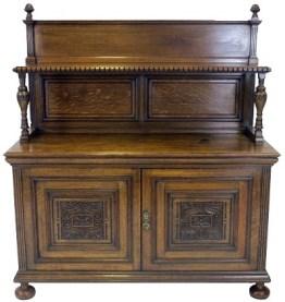 Oak Court Cupboard