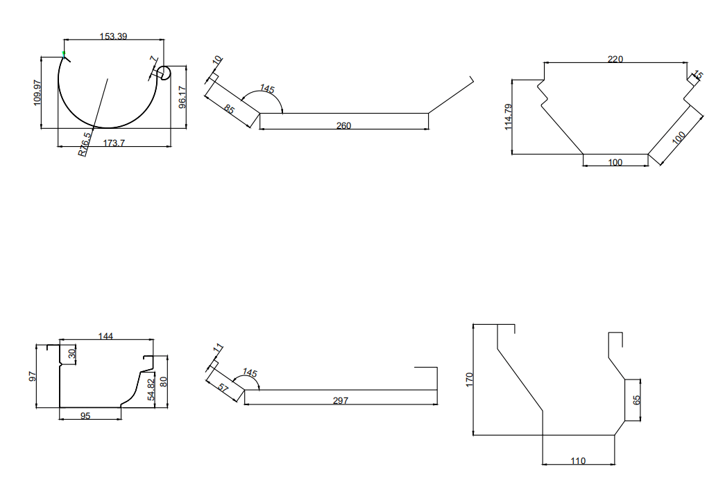 Fabricante de Perfiladora de Canalones de buena calidad
