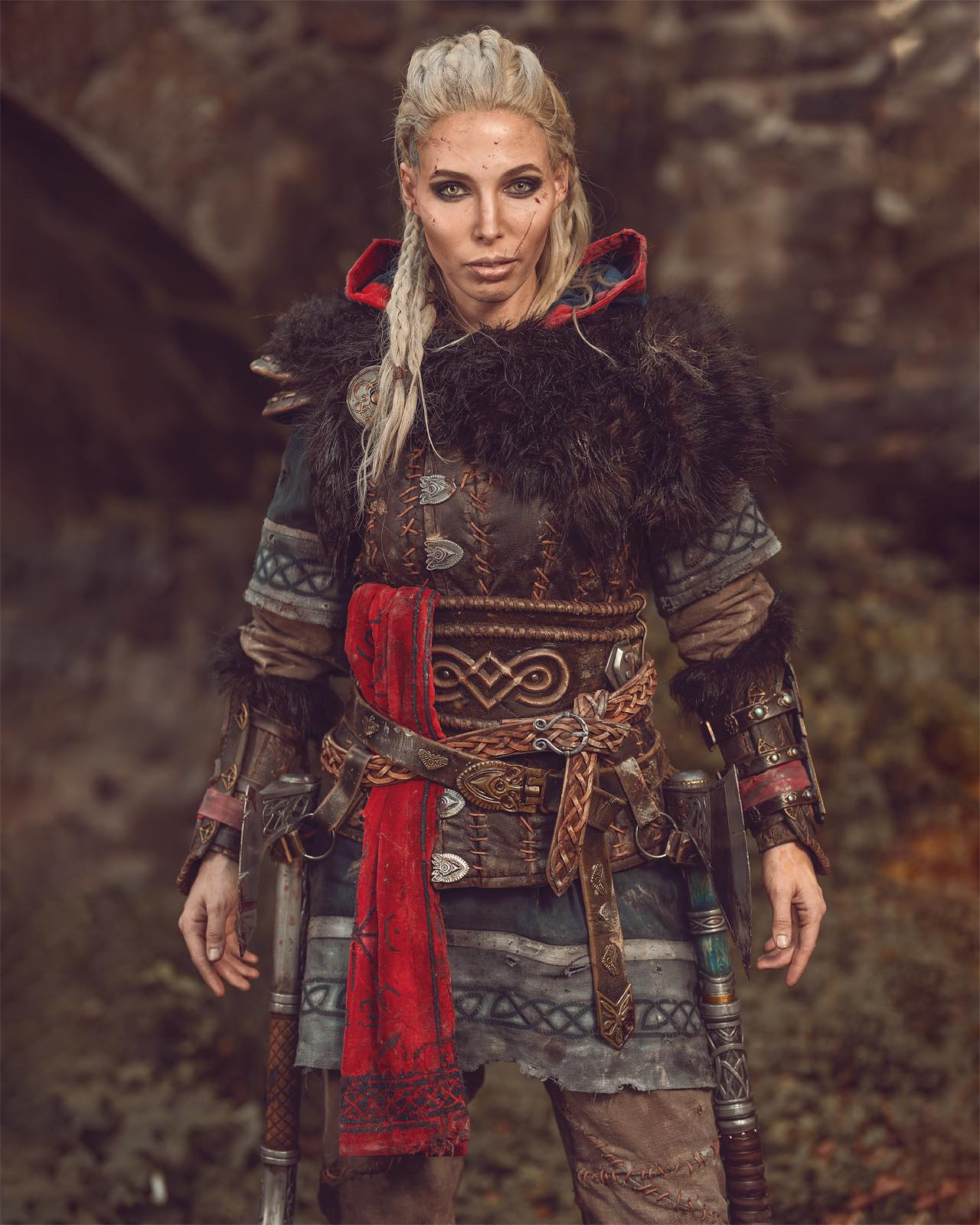 A Double Assassin S Creed Valhalla Cosplay By Maja Felicitas And Maul Cosplay Respawwn