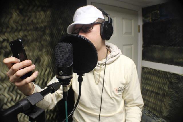 Jake Linux In The Studio