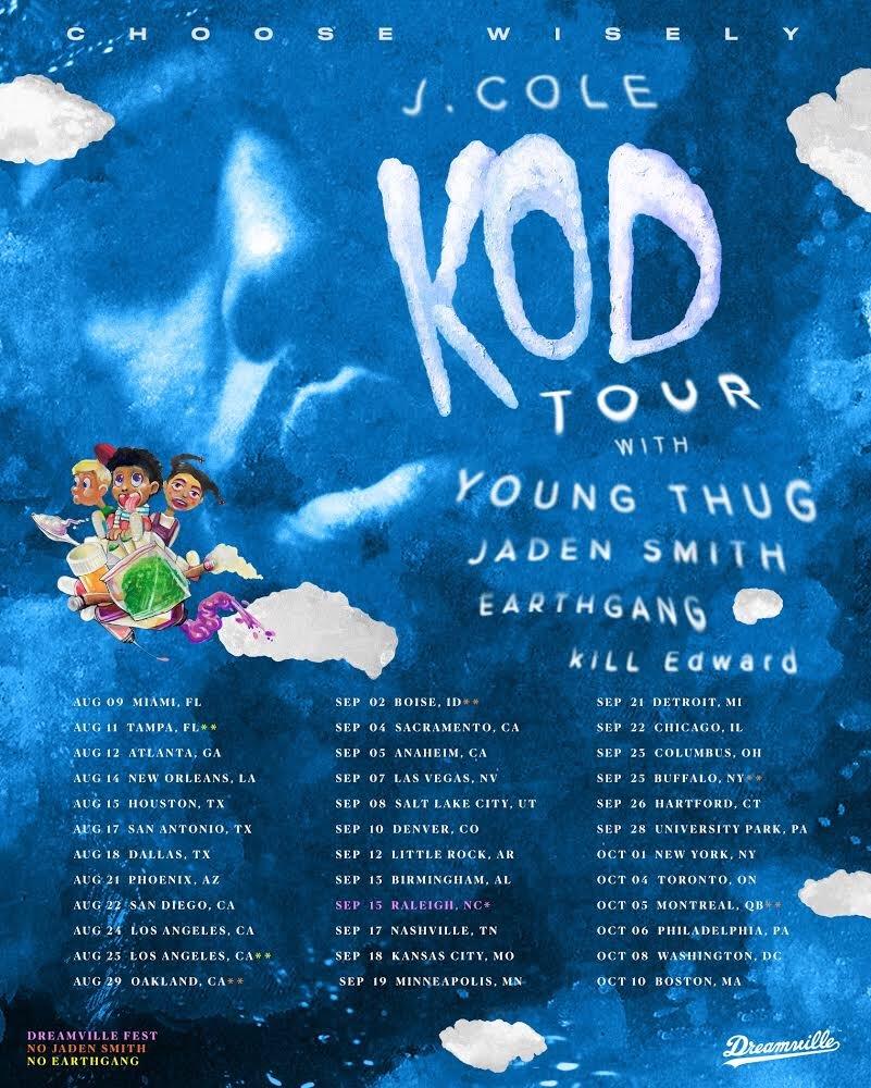 J. Cole tour