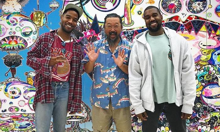Kanye West, KiD CuDi & Takashi Murakami