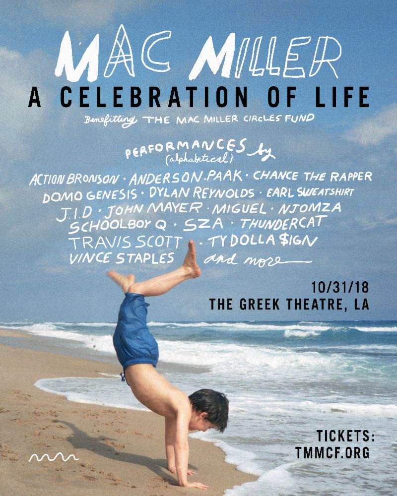 Mac Miller Celebration Concert