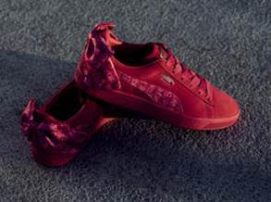 8553bb3c3a12b4 The Puma x Barbie Suede 50 Capsule Collection