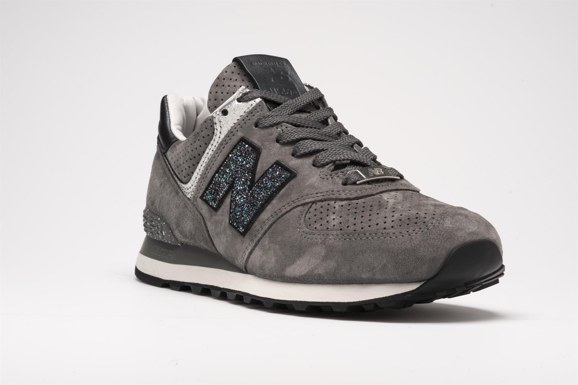 quality design 9be58 f9a17 New Balance Releases Limited NB1 574 with Crystals from ...
