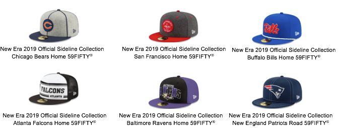 1c1db217 New Era Reveals Sideline Collection Honoring NFL's 100th Season ...