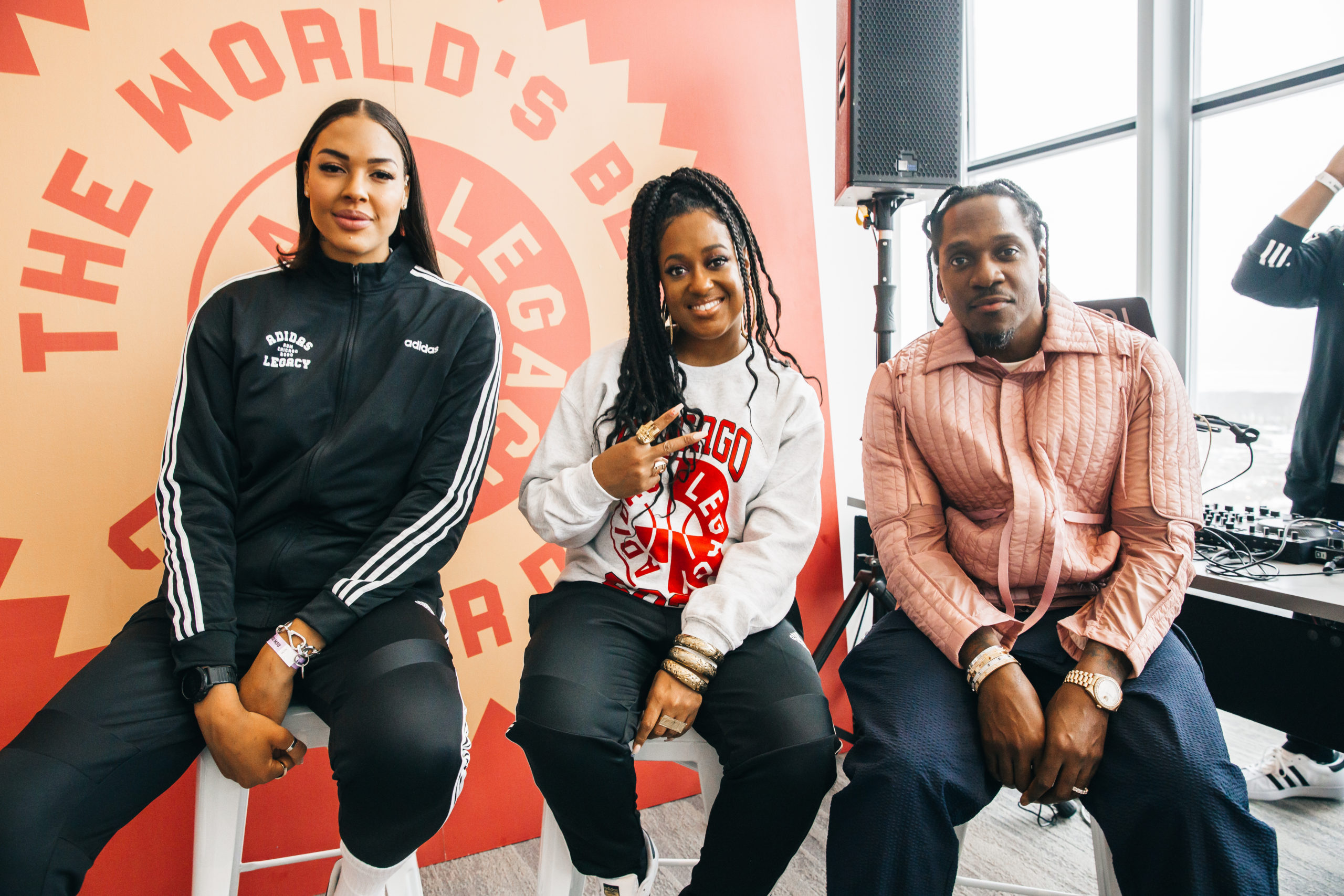 Quinto Norma infermiera  adidas Athletes & Entertainers including James Harden, Derrick Rose and  Candace Parker Hold the 'World's Best Career Day' for Chicago Student  Athletes During NBA All-Star Weekend | RESPECT.