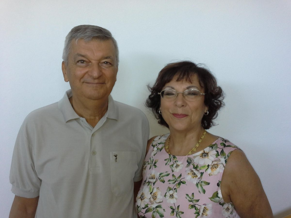 Stefano Montanari and Antonietta Gatti