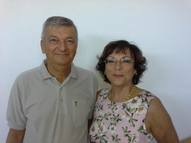 Stefano Montanari and Antonietta Gatti