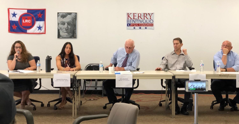 Kerry Bentivolio and Jeff Noble plus antivaxers