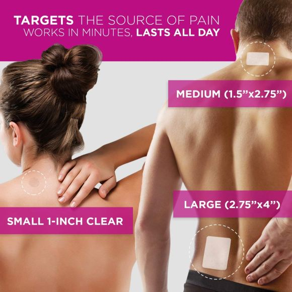 Luminas Pain Relief Patches
