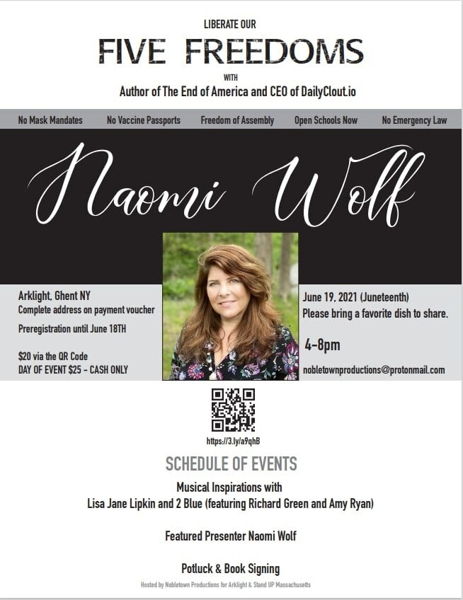 Naomi Wolf on Juneteenth
