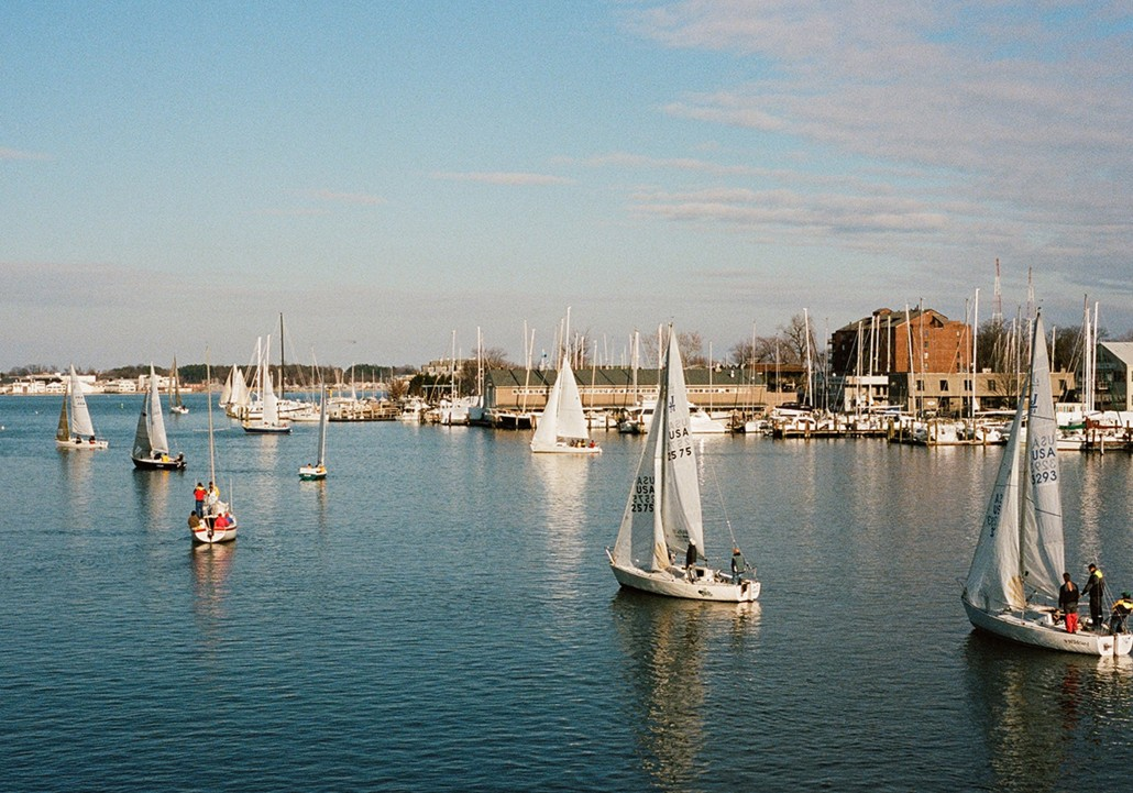 Wednesday Night Sailboat Races Annapolis Respect The Locals