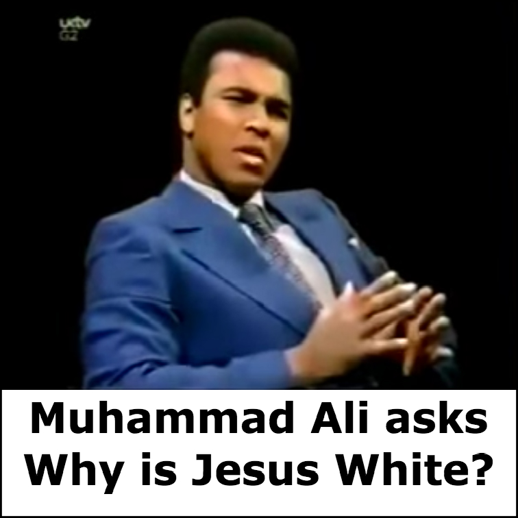 Why is Jesus White